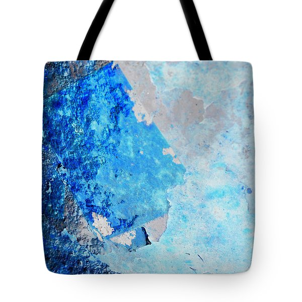 Tote Bag featuring the photograph Blue Rust by Randi Grace Nilsberg