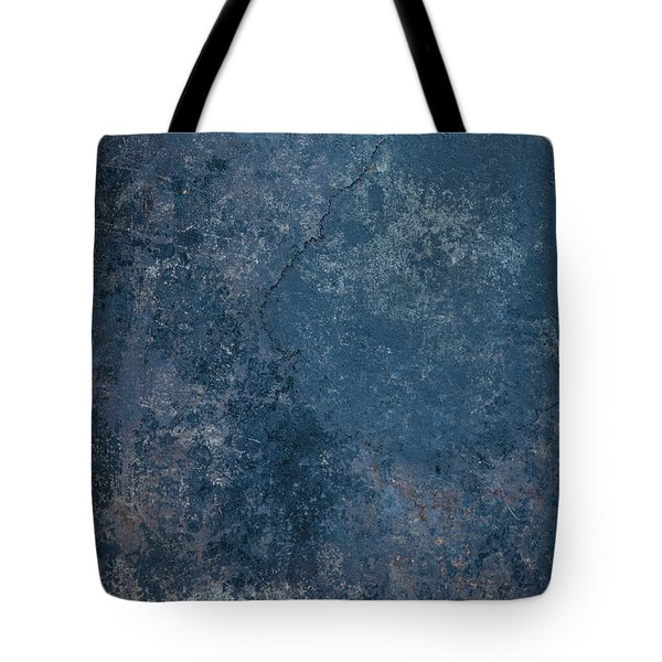 Blue Rustic Metal Background Tote Bag