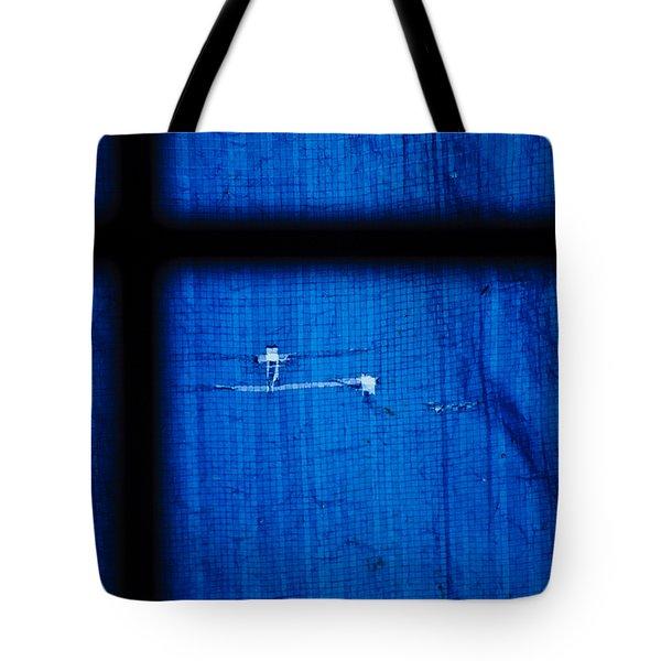 Blue Shade Tote Bag by Christi Kraft