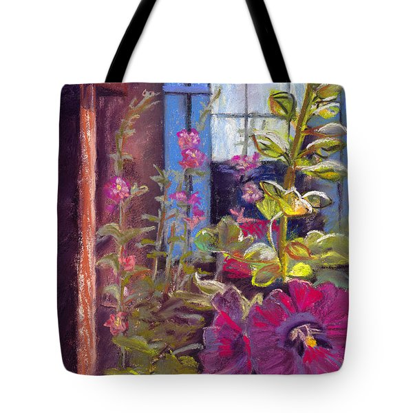 Blue Shutters Tote Bag by Julie Maas