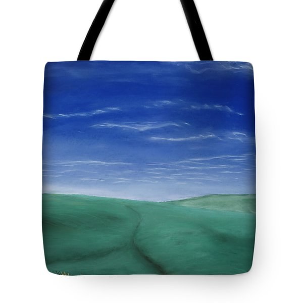 Blue Skies Ahead Tote Bag