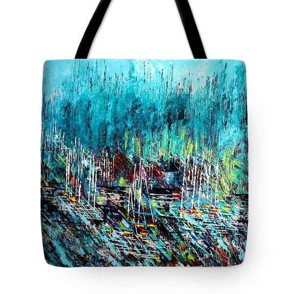 Blue Skies Chicago - Sold Tote Bag