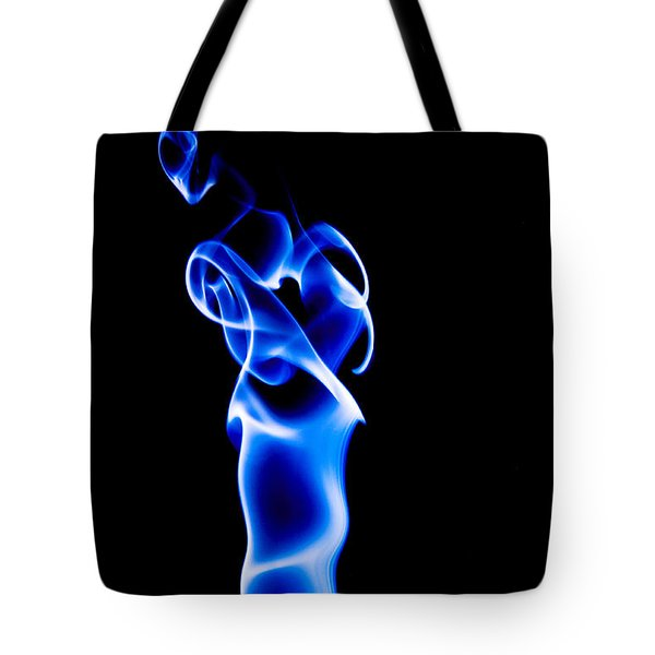 Blue Smoke Tote Bag