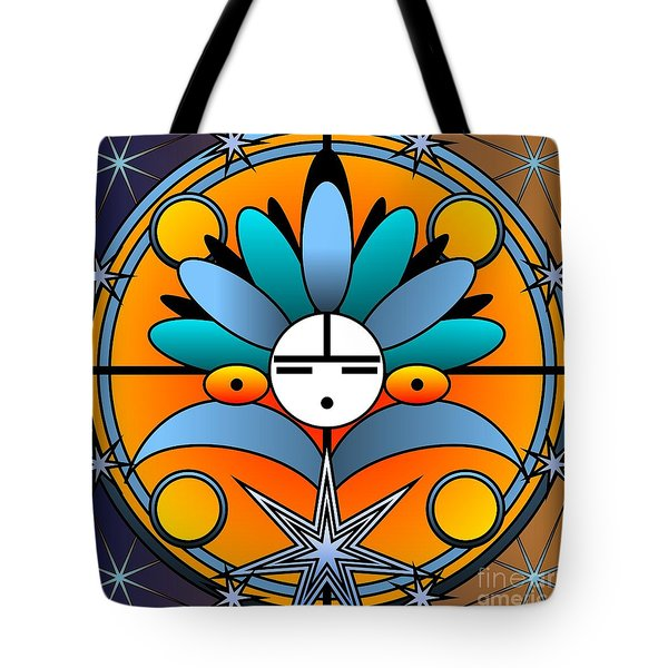 Blue Star Kachina 2012 Tote Bag
