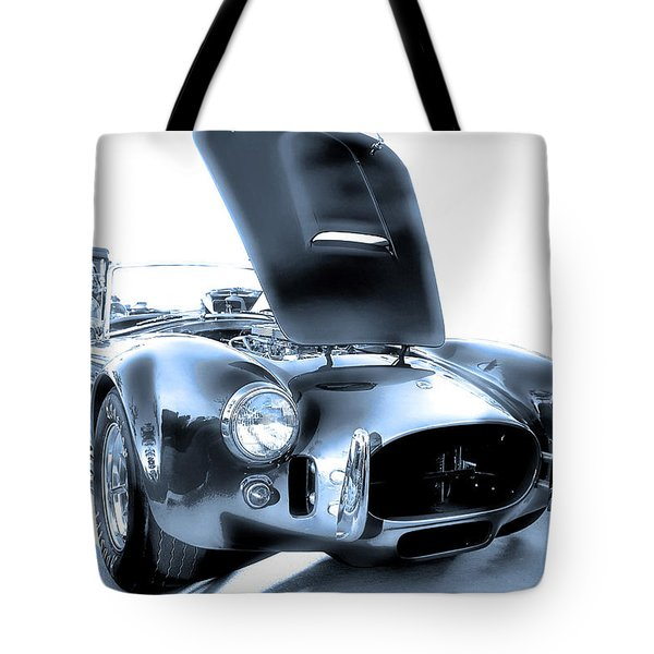 Tote Bag featuring the photograph Blue Steel by Dyle   Warren