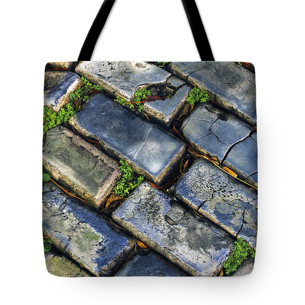 Blue Stone  Tote Bag