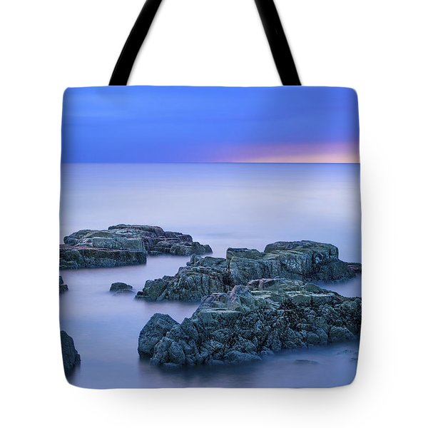Blue Sunrise Tote Bag