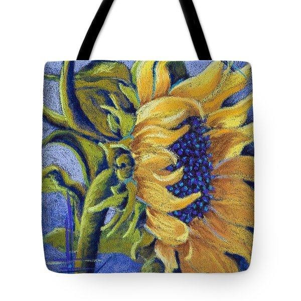 Blue Sunshine Tote Bag by Tracy L Teeter