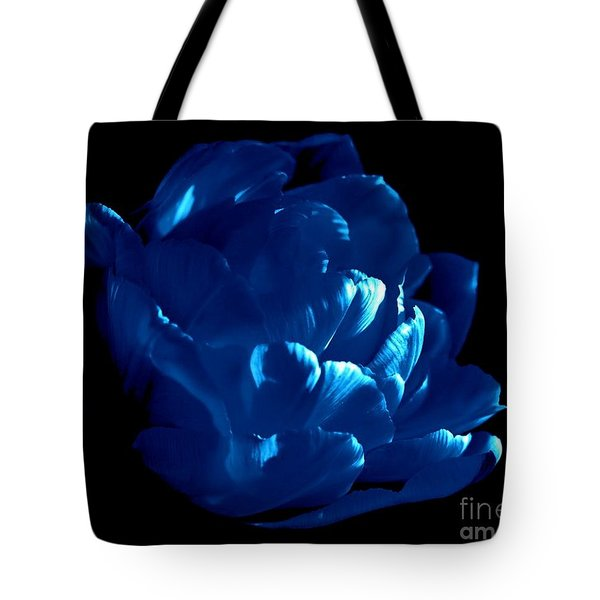 Blue Tulip Tote Bag