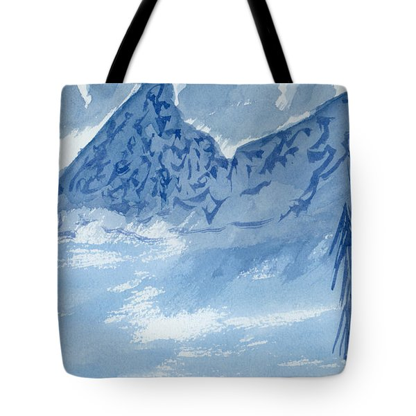 Blue View #2 Tote Bag