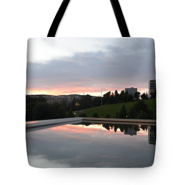 Blue Visions 2 Tote Bag
