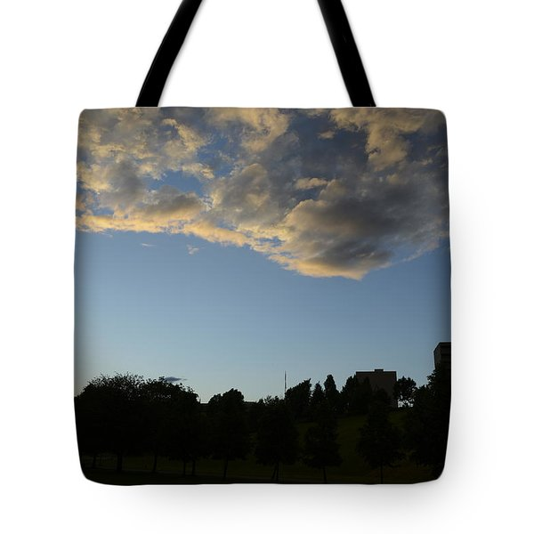 Blue Visions 4 Tote Bag