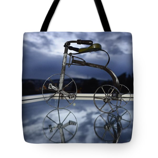 Blue Visions 5 Tote Bag