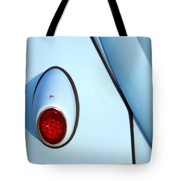 Blue Vw Bug Taillight Tote Bag