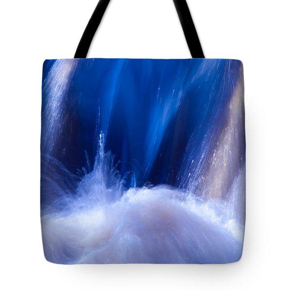 Blue Water Tote Bag by Torbjorn Swenelius