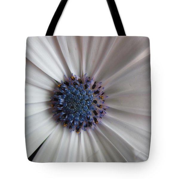 Blue-white Loveliness Tote Bag