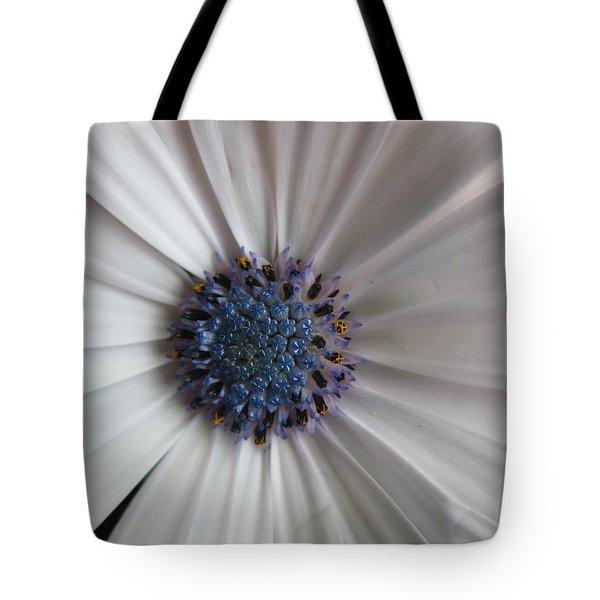 Blue-white Loveliness Tote Bag