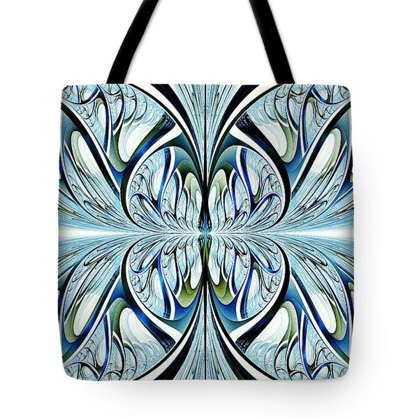 Blue Wings Tote Bag by Anastasiya Malakhova