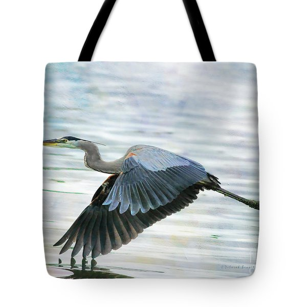 Blue With Grace And Beauty Tote Bag