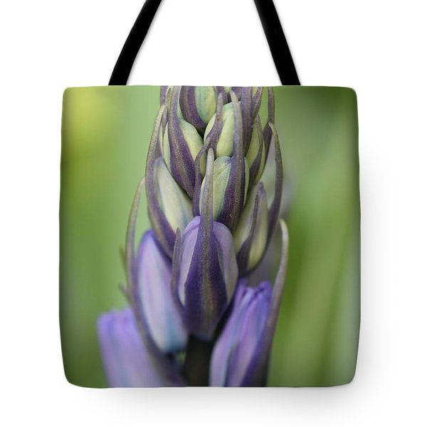 Bluebell Buds Tote Bag by Mark Severn
