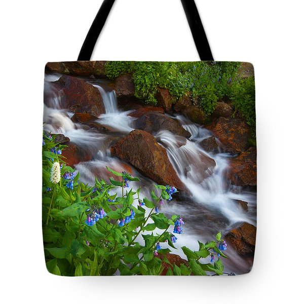 Bluebell Creek Tote Bag by Darren  White