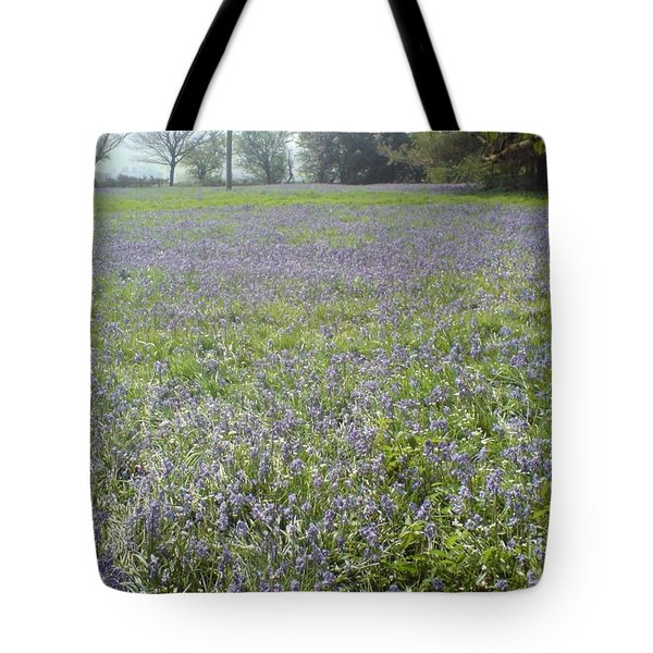 Bluebell Fields Tote Bag