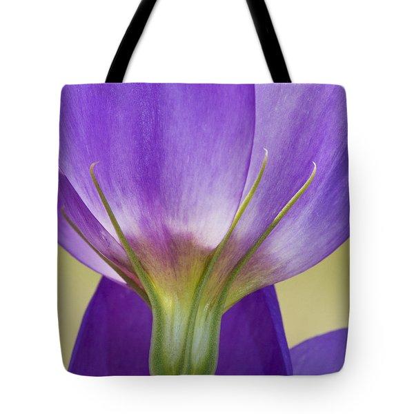 Bluebell Gentian Flower Tote Bag