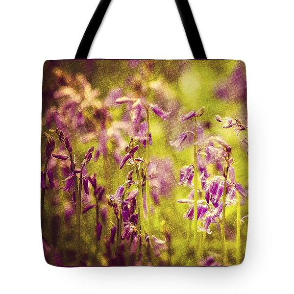 Bluebell In The Woods Tote Bag