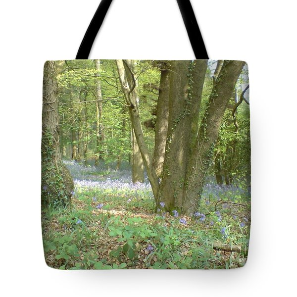 Bluebell Wood Tote Bag by John Williams