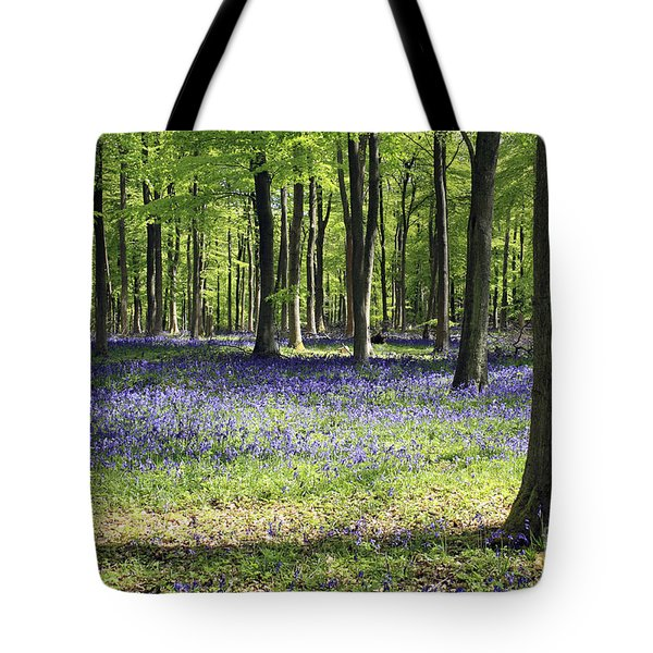Bluebell Wood Uk Tote Bag