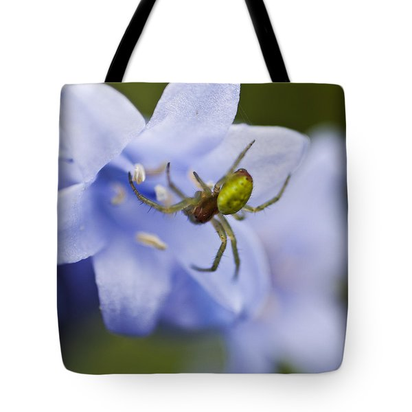 Bluebells 7 Tote Bag by Steve Purnell