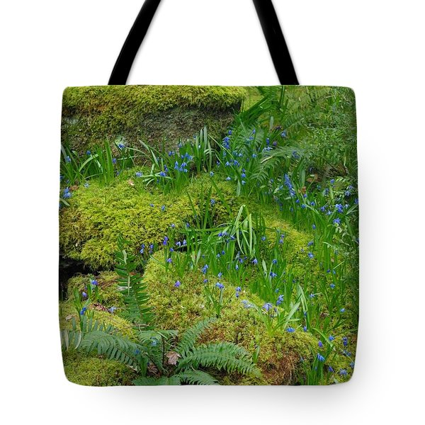 Tote Bag featuring the photograph Bluebells  by Marilyn Wilson