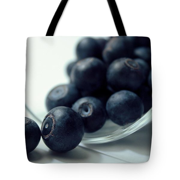 Blueberries Tote Bag by Joseph Skompski