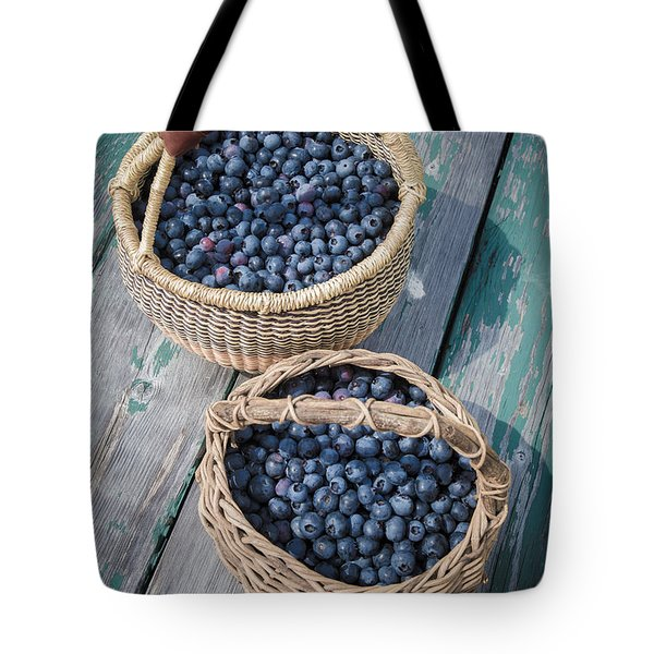Blueberry Baskets Tote Bag