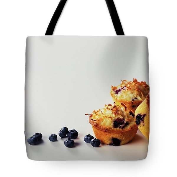 Blueberry-coconut Pound Cakes Tote Bag