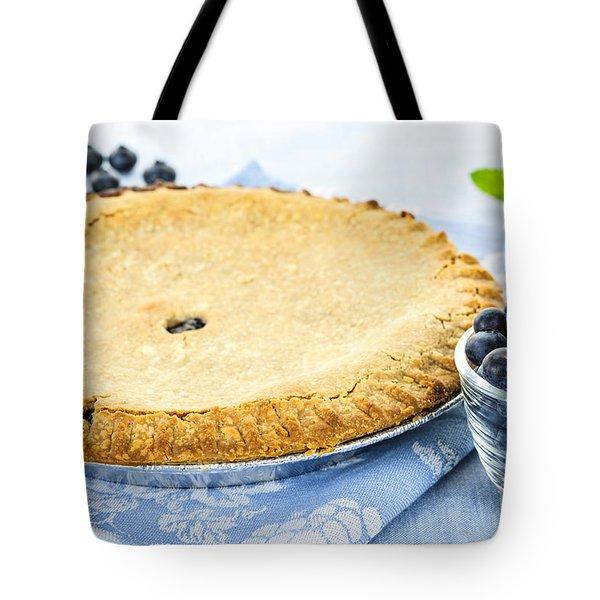Blueberry Pie Tote Bag by Elena Elisseeva
