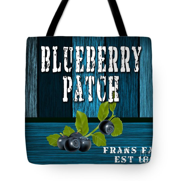 Blueberrys Tote Bag by Marvin Blaine