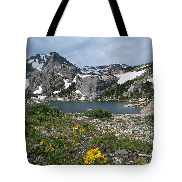 Bluebird Lake - Colorado Tote Bag