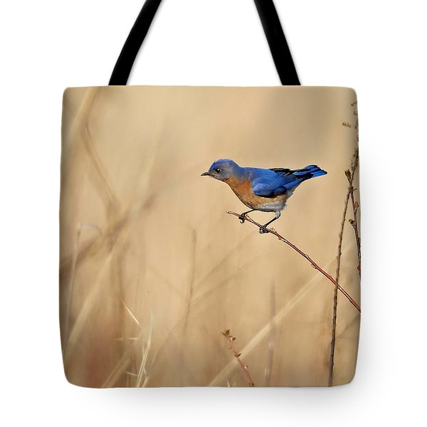 Bluebird Meadow Tote Bag