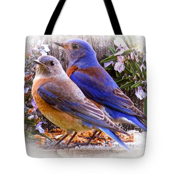 Bluebird Wedding Tote Bag