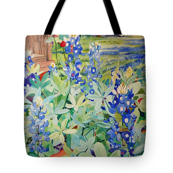 Bluebonnet Beauties Tote Bag