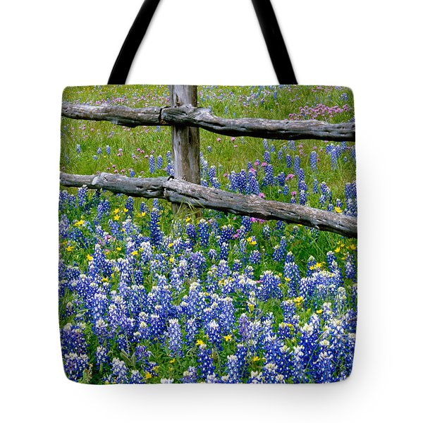Bluebonnet Flowers Blooming Tote Bag