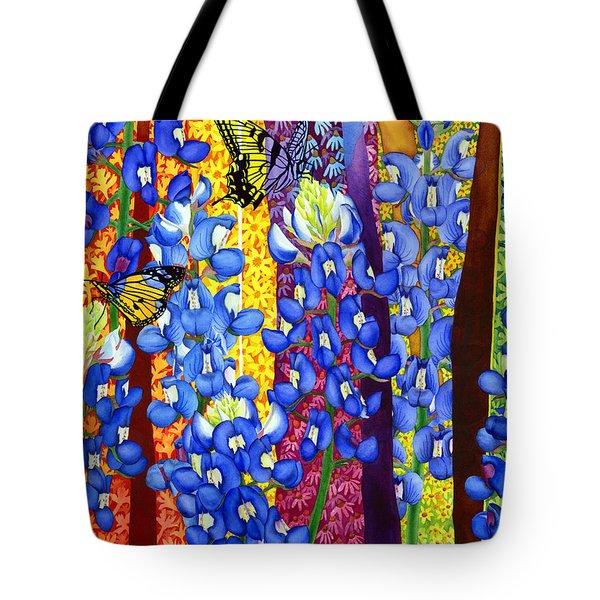 Bluebonnet Garden Tote Bag