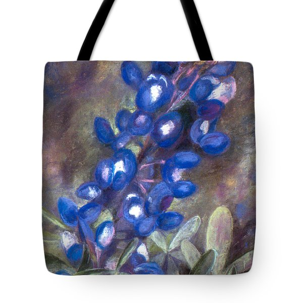 Bluebonnets Tote Bag by Julie Maas