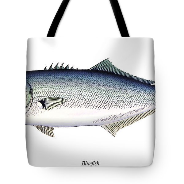 Bluefish Tote Bag by Charles Harden