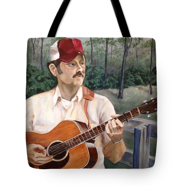 Bluegrass Picker Tote Bag by Janet Felts