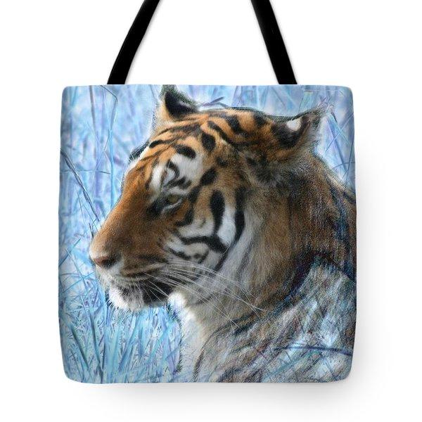 Bluegrass Tiger Tote Bag