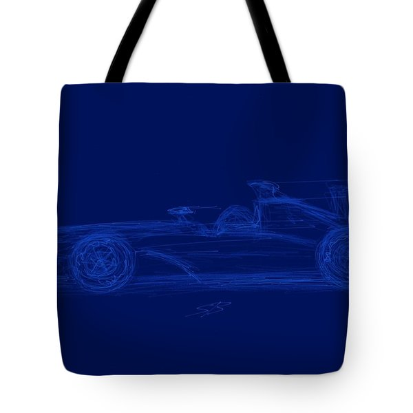 Blueprint For Speed Tote Bag