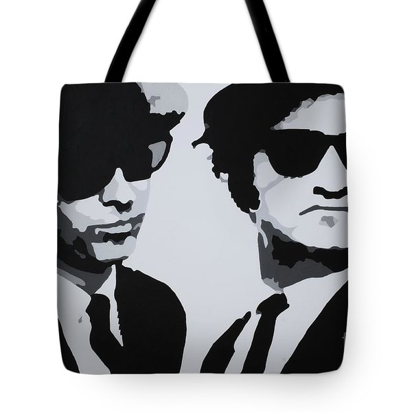 Blues Brothers Tote Bag by Katharina Filus
