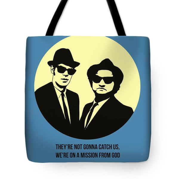 Blues Brothers Poster 3 Tote Bag